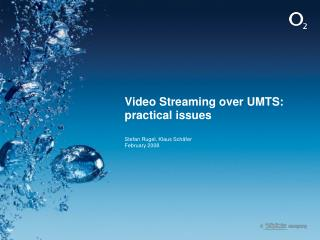 Video Streaming over UMTS: practical issues