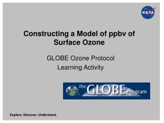 Constructing a Model of ppbv of Surface Ozone