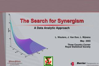 The Search for Synergism