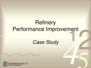 Refinery  Performance Improvement