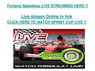 Auto Club 400 live streaming Nascar Speedway live online fre