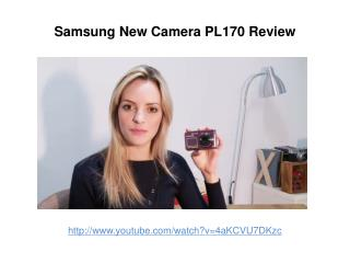 Samsung New Camera PL170 Review