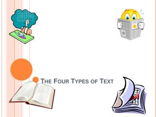 The Four Types of Text