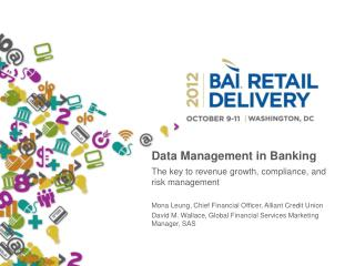 Data Management in Banking