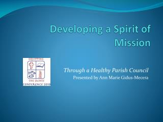 Developing a Spirit of Mission