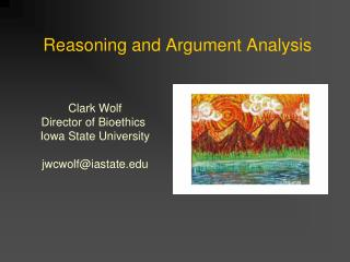 Reasoning and Argument Analysis