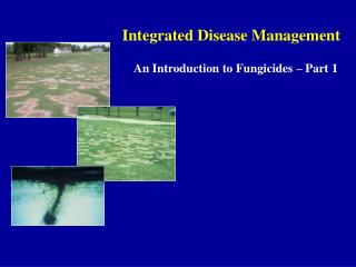 Integrated Disease Management