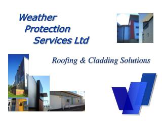 Roofing & Cladding Solutions