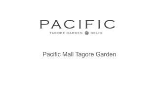 Shopping centre in Delhi