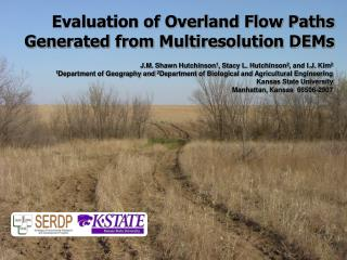 Evaluation of Overland Flow Paths Generated from Multiresolution DEMs