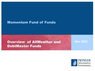 Momentum Fund of Funds