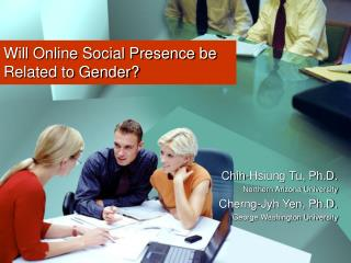 Will Online Social Presence be Related to Gender?