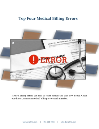 Top Four Medical Billing Errors