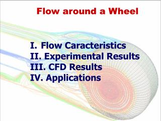 Flow around a Wheel