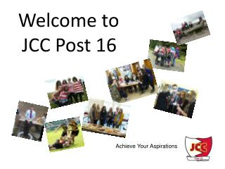 Welcome to  JCC Post 16