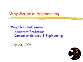 Why Major in Engineering