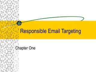 Responsible Email Targeting