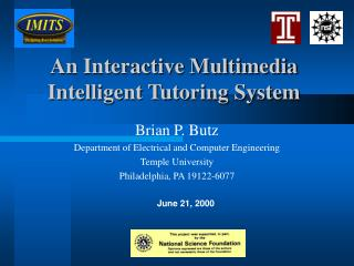 An Interactive Multimedia Intelligent Tutoring System