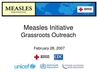 Measles Initiative Grassroots Outreach