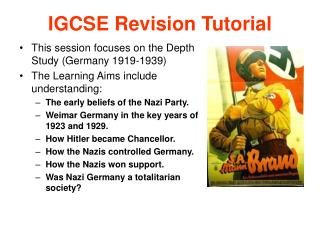 IGCSE Revision Tutorial