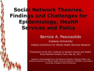 Social Network Theories, Findings and Challenges for Epidemiology, Health Services and Policy