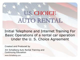 U.S.  CHOICE  AUTO RENTAL