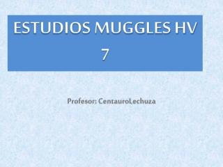 Tema 5. Bloque 2: La Salud Muggle