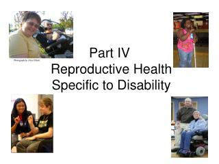 Part IV Reproductive Health Specific to Disability