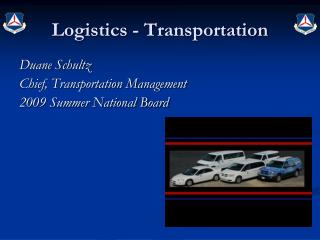 Logistics - Transportation