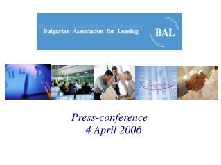 Press-conference 4 April 2006
