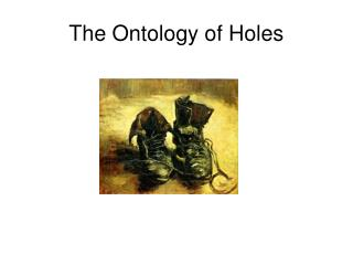 The Ontology of Holes