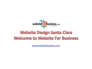 Affordable Website Design Services in Santa Clara