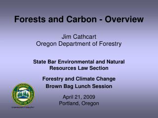 Forests and Carbon - Overview