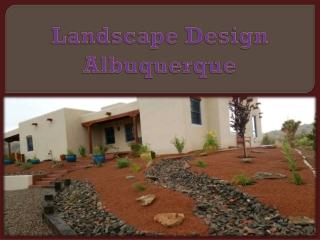 Landscape Design Albuquerque