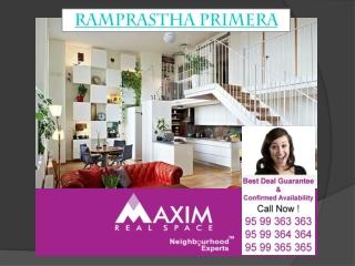Ramprastha Primera Gurgaon Call 9599363363
