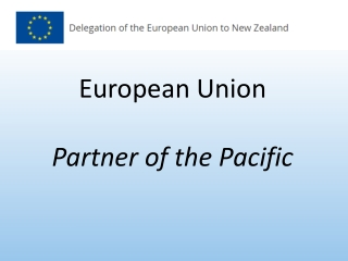 European Union Partner of the Pacific