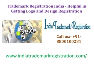 Trademark Registration India - Helpful in Getting Logo