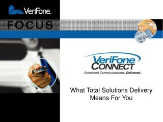 VeriFone CONNECT