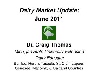 Dairy Market Update: June 2011