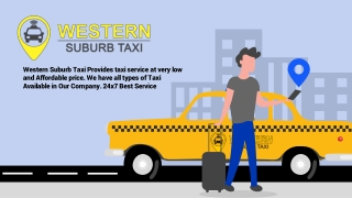 TAXI PPT