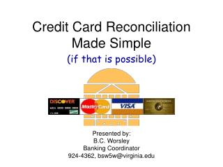 Credit Card Reconciliation Made Simple