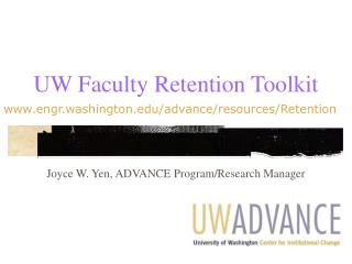 UW Faculty Retention Toolkit