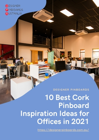 10 Best Cork Pinboard Inspiration Ideas for Offices in 2021