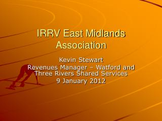 IRRV East Midlands Association