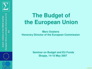 The Budget of  the  European  Union