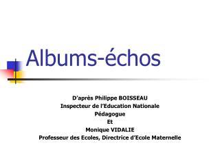 Albums-échos