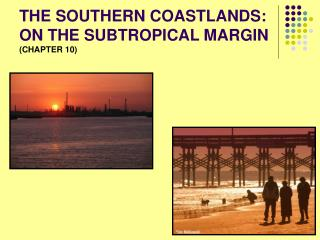 THE SOUTHERN COASTLANDS: ON THE SUBTROPICAL MARGIN (CHAPTER 10)