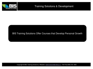 Leadership Training Solutions and Development