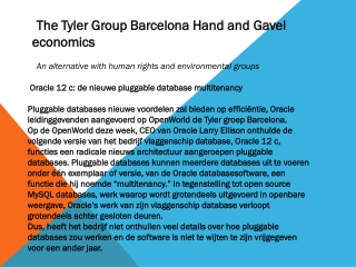The Tyler Group Barcelona Hand and Gavel Economic