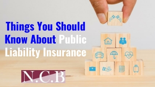 Things You Should Know About Public Liability Insurance